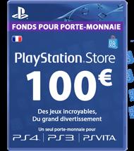 Carte PSN 100 euros FR