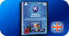 CARTES ANGLAISES PLAYSTATION NETWORK
