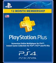 Abonnement PlayStation Plus 12 mois (USA)