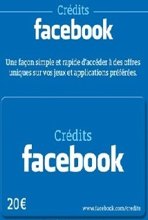 Facebook 20€ Carte prépayée au Maroc