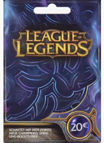 League of Legend 20€ - Europe France Au Maroc