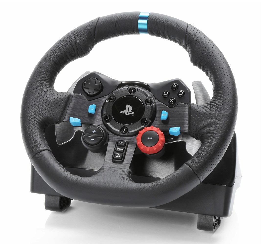 logitech g29 racing driving force pour ps4 ps3 pc psn ma. Black Bedroom Furniture Sets. Home Design Ideas