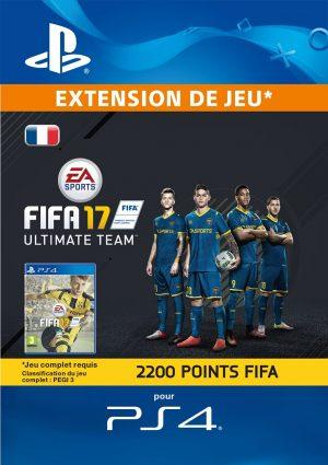FIFA 17 Ultimate Team - 2200 Points FIFA [Compte français]