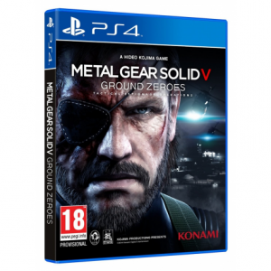 METAL GEAR SOLID 5 grond zeroes
