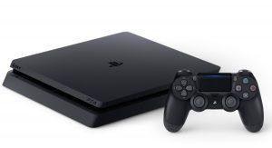 Sony Playstation 4  Slim - PS4 Maroc - 500GB- Noir