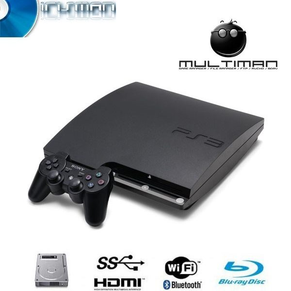 playstation 3 slim ps3 120gb au maroc prix ps3 maroc sur psn ma. Black Bedroom Furniture Sets. Home Design Ideas