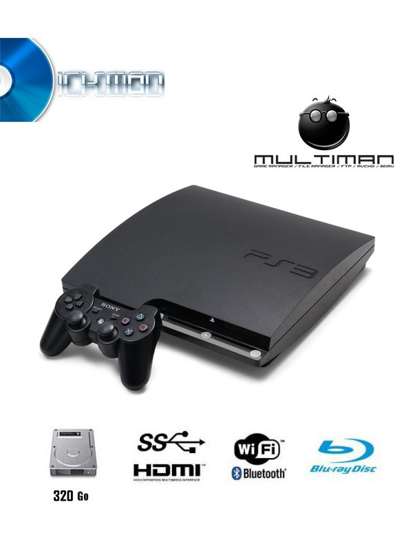 playstation 3 slim ps3 320gb psn ma. Black Bedroom Furniture Sets. Home Design Ideas