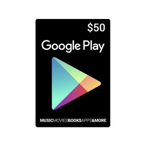 Carte Google Play 50 dollar (US)